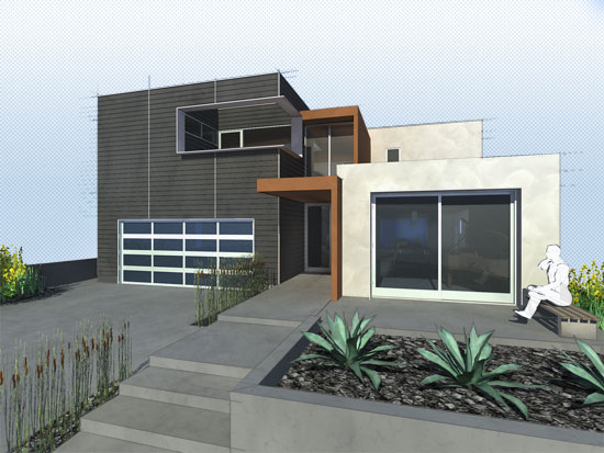 A modern remodel in long beach the 360 house for Modern house 360 view