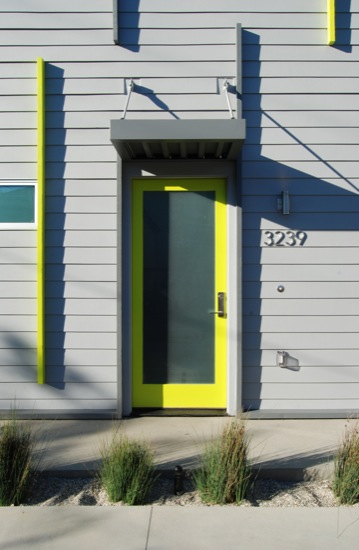 Small lot subdivision modern architect cement board siding for Modern cement board siding