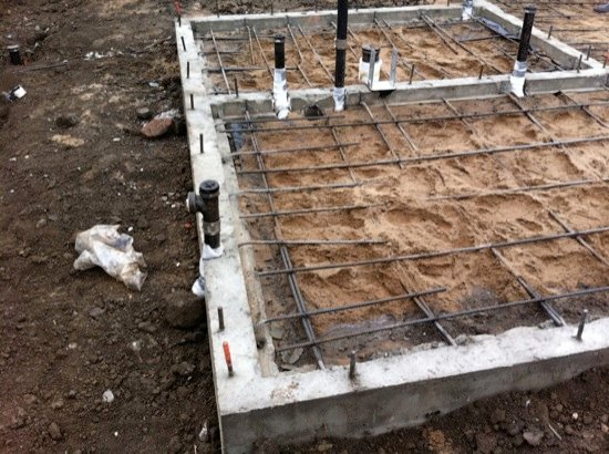 small lot homes slab construction