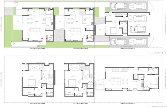 Venice Small Lot Modern Home Plans 1 2