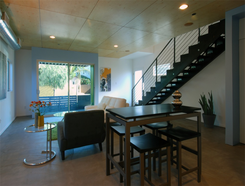 2x homes fay ave affordable small lot subdivision los angeles - Small Lot Modern House Designs