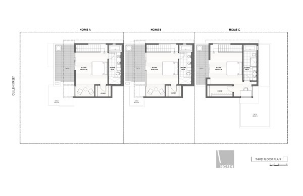 Art District Small Lot Homes Cullen 3rd Floor Plan resized 600