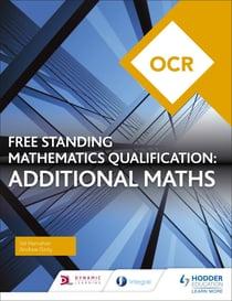 Additional Maths textbook