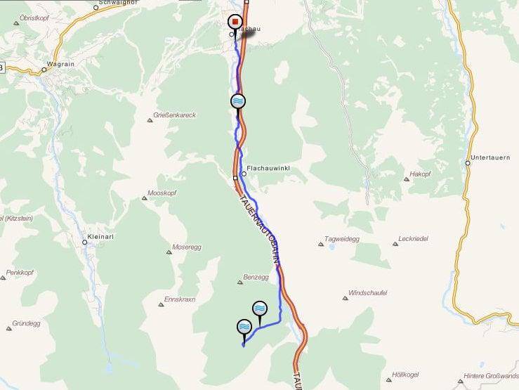 marbachalm_mountainbiketour in Flachau