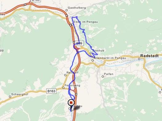 MTB-tour Moosalm Bikehotel Tauernhof Flachau