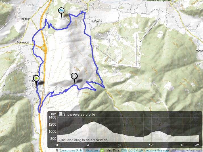 MTB-tour Sattelbauer-Winterbauer Tauernhof Flachau