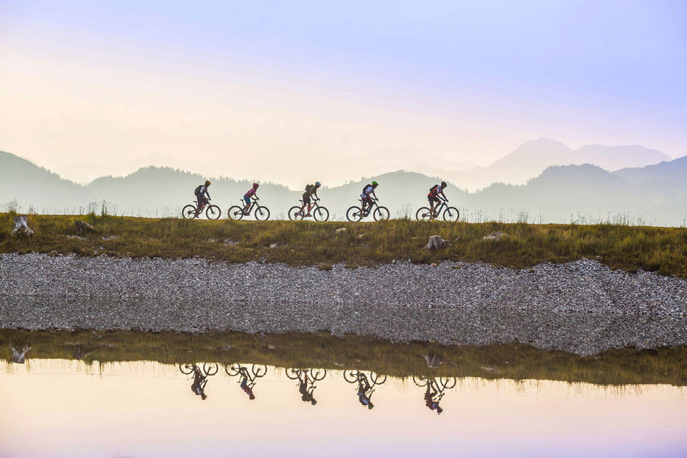 Flachau Sporthotel Tauernhof bikegroup