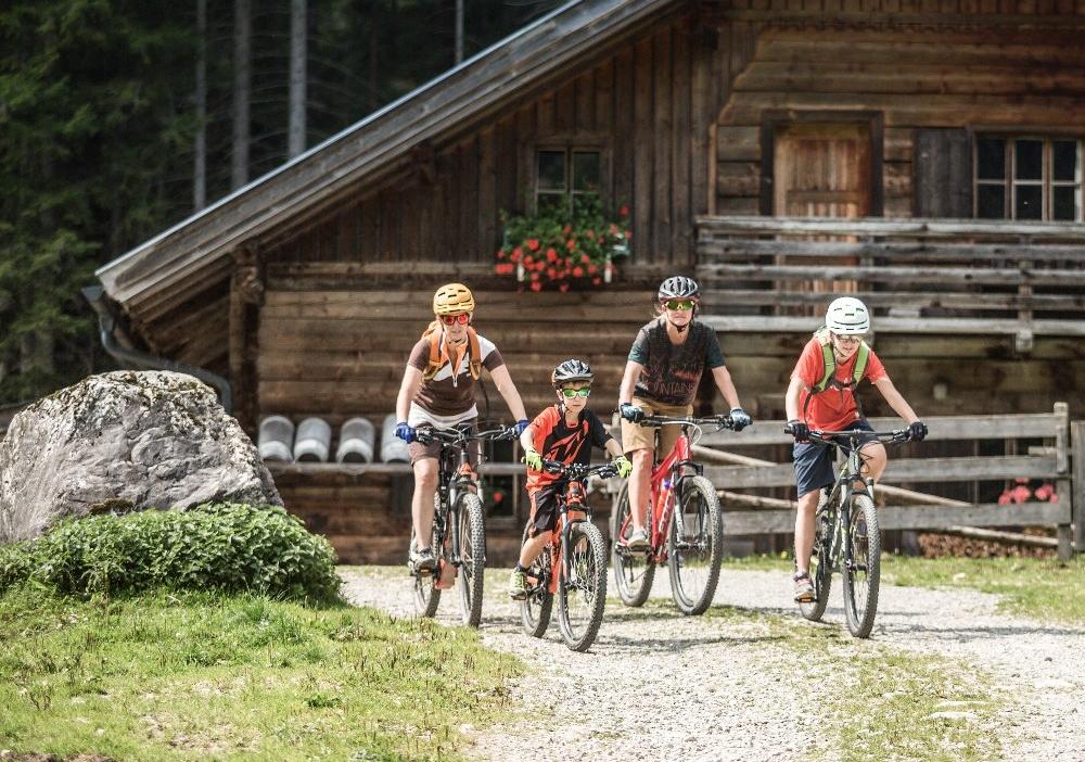 Mountainbikeurlaub mit Kindern
