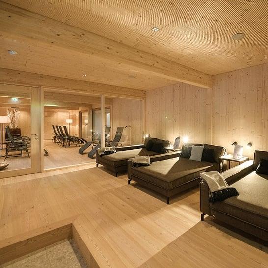 Relaxation area Bikehotel Tauernhof