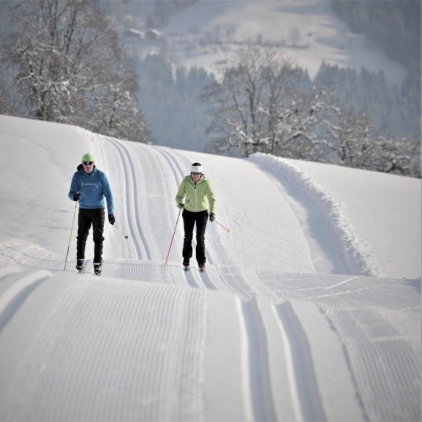 Cross-country skiing tracks hotel Tauernhof