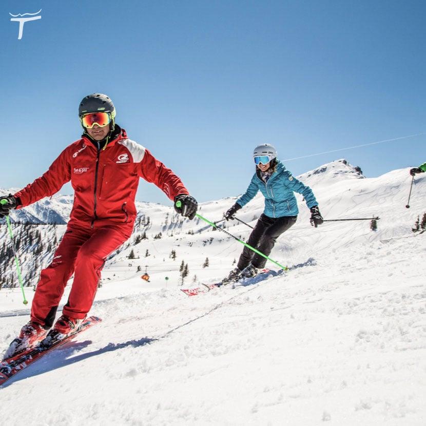 Skischule Skiverleih in Flachau Fun & Pro Partner