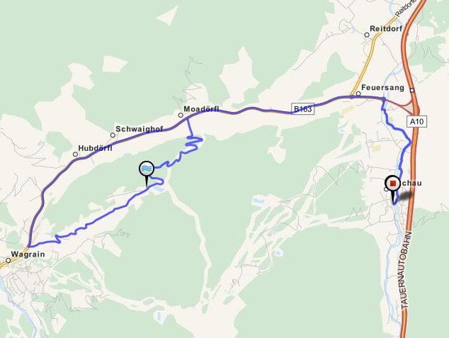 MTB-tour Moardörfl Bikehotel Tauernhof Flachau