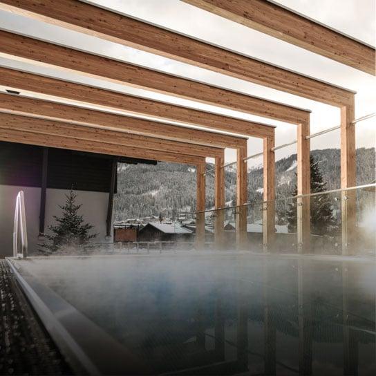 Wellnessurlaub in Flachau Tauernhof Sauna Relaxen