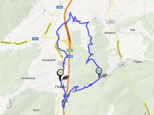 MTB-tour Sattelbauer Bikehotel Tauernhof Flachau