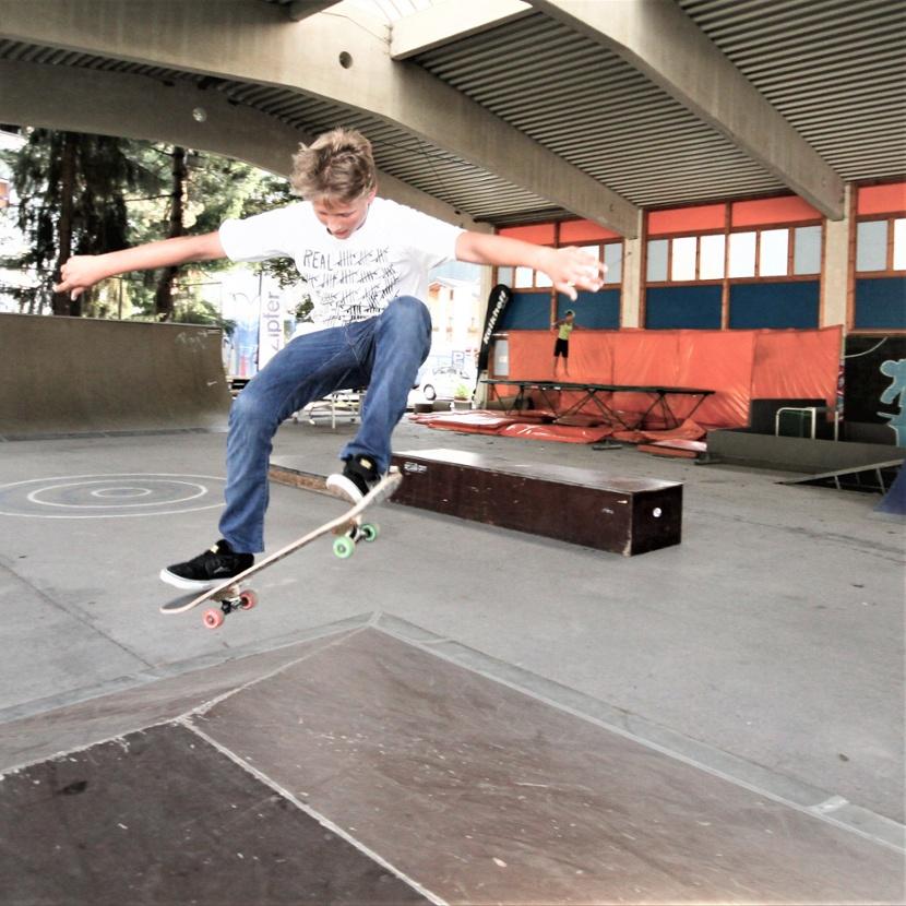 Skaten Funpark Urlaub Österreich sporthotel tauernhof flachau