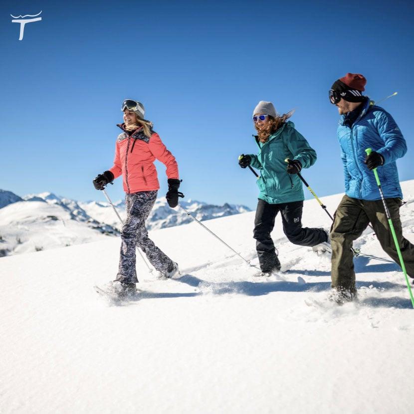 Sporthotel Tauernhof snowshoe hiking Flachau