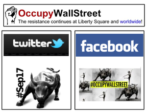 Occupy wall street logo mess