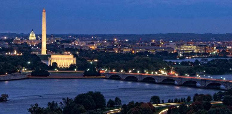 Washington DC Skyline - 776 x 380