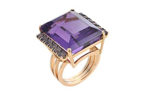 """""""Purple Skies"""" ring"""