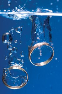 Rings in water