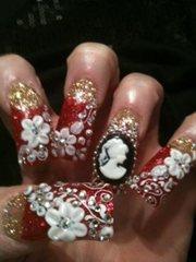 Cameo nails