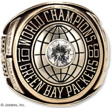Packers Super Bowl I ring