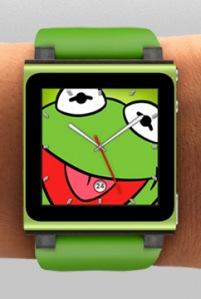 Ipod Kermit watch