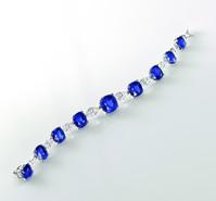 Cartier sapphire bracelet