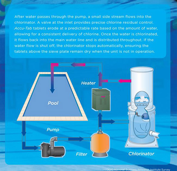 How Chlorine Works To Disinfect Pools
