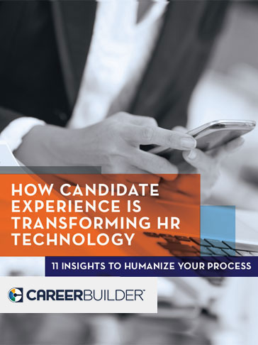 How candidate experience is transforming HR technology