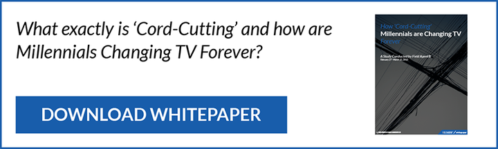 How are 'Cord-Cutting' Millennials Changing TV Forever?
