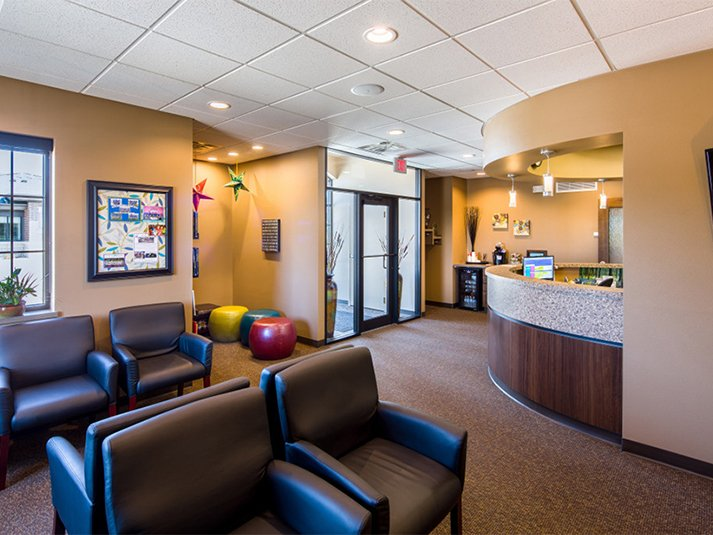 Dental waiting room in Coralville IA