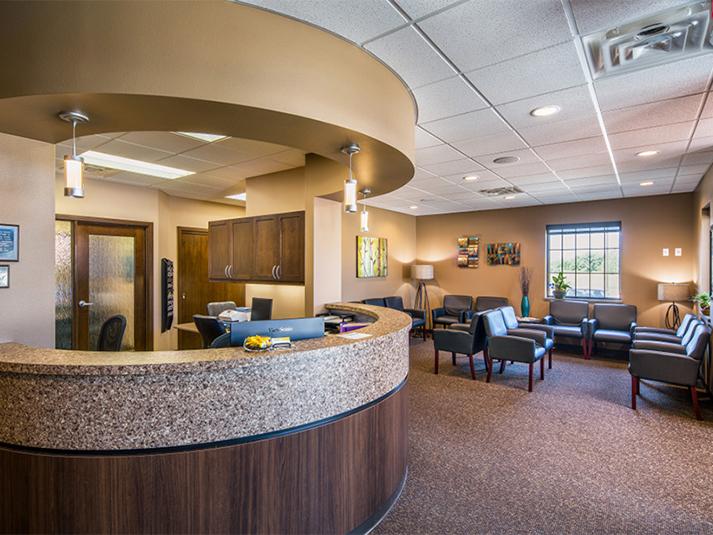 Coral West Dental Waiting Room