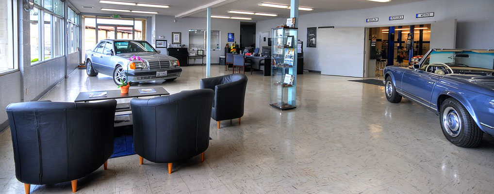 Marlow Mercedes-Werks has a combined 130 years of experience.