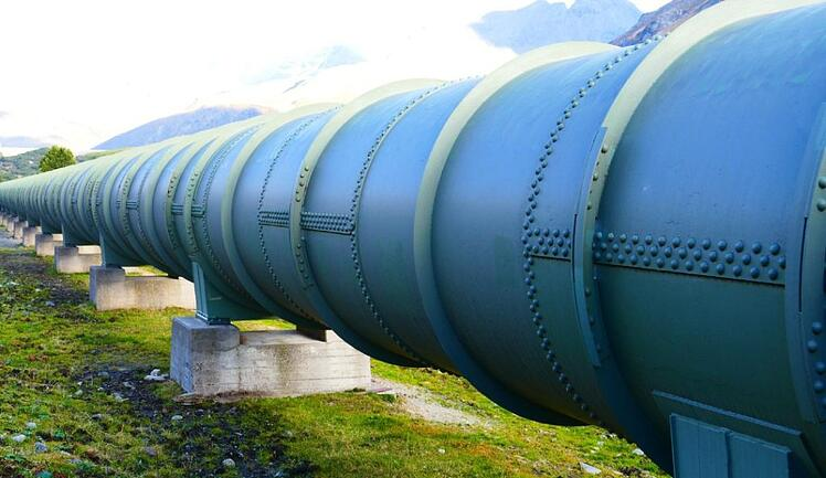 An image of a gas pipeline representing the serverless CICD process
