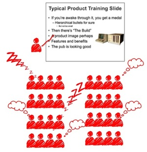 traditional product training
