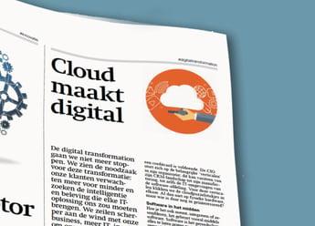 Using Cloud as digital enabler