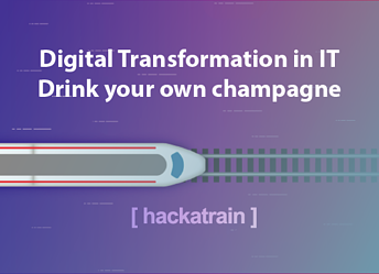 Digital transformation in IT: Drink your own champagne