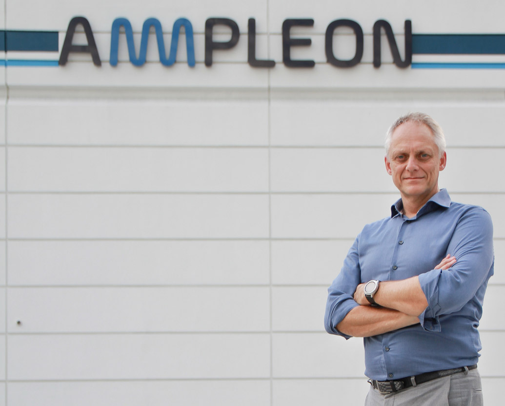 Ampleon: riding the 5G wave with a smart factory