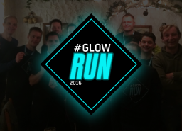 Itility running the GLOW run Eindhoven