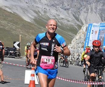 Itility sponsors Peter Kuijpers in Stelvio for Live