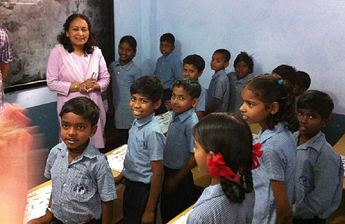 Itility visits Hope Foundation India