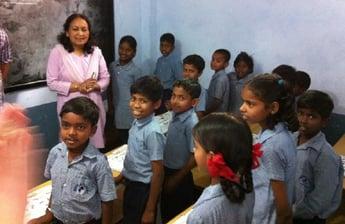 Itility visits Hope Foundation India