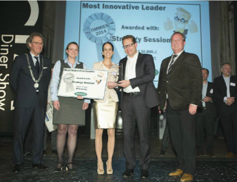 Itility wins Timmie Award for most innovative leader