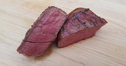 Reverse Seared Steak FB