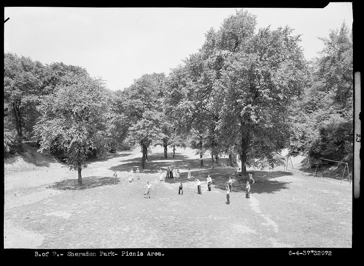Sheraden Park, circa 1934. Photo courtesy Archives Service Center at the University of Pittsburgh.