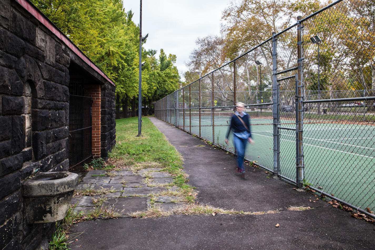 AC Allegheny Commons 2017 tennis court (Jeremy Marshall) HTL