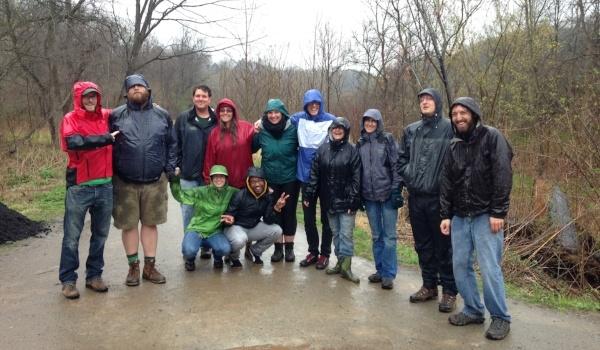 Earth Day 2015 (1) Group photo outside rain trees  FEC-563771-edited