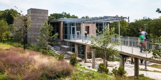 Image of the Frick Environmental Center