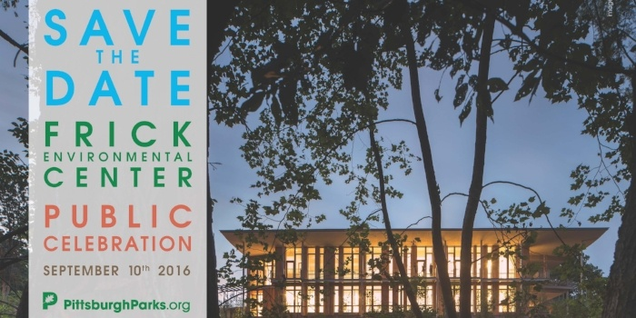 Image of Frick Environmental Center save the date